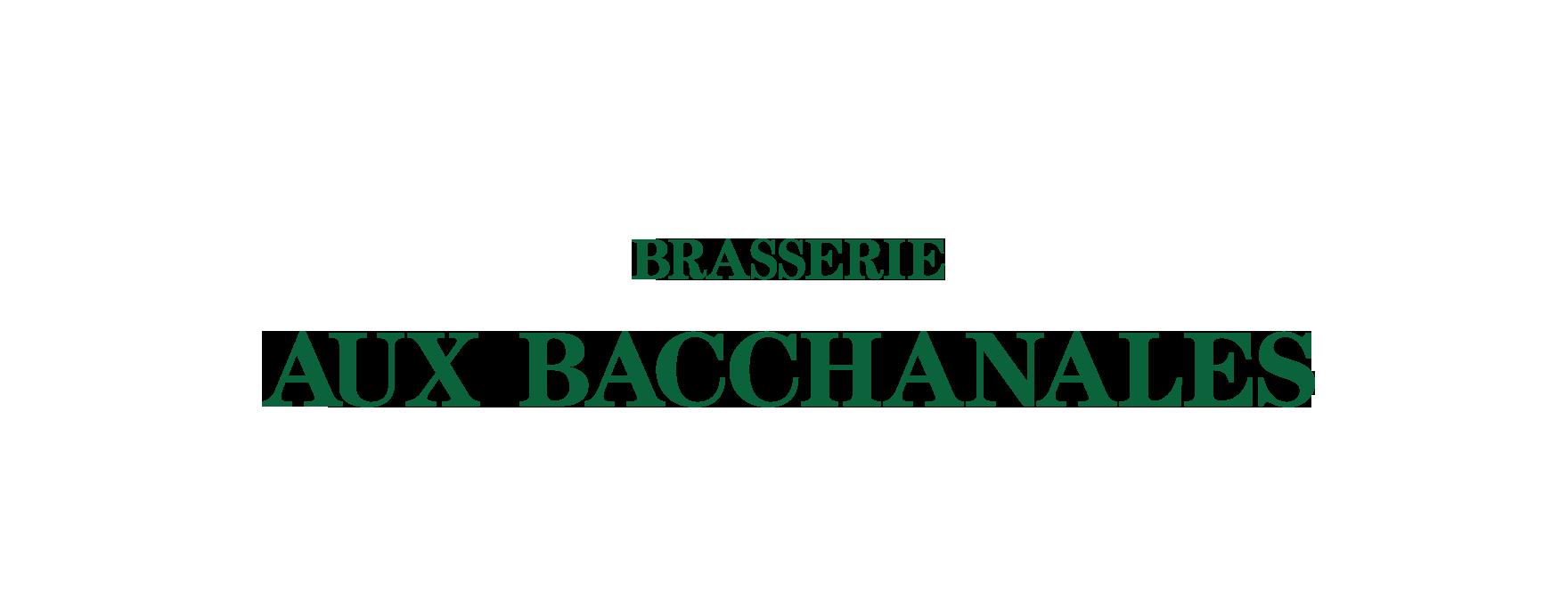 AUX BACCHANALES